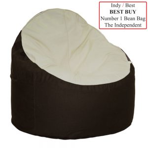 The Bean Chair Eco Friendly Cream & Cocoa