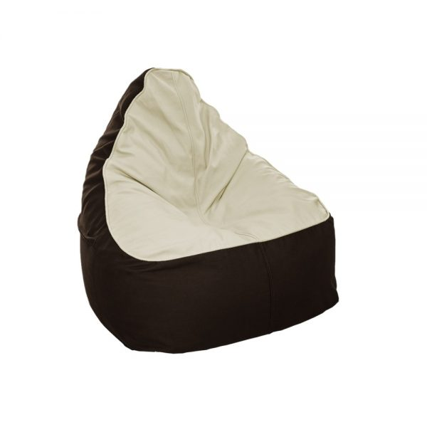 The Bean Bag - Cream and Coffee