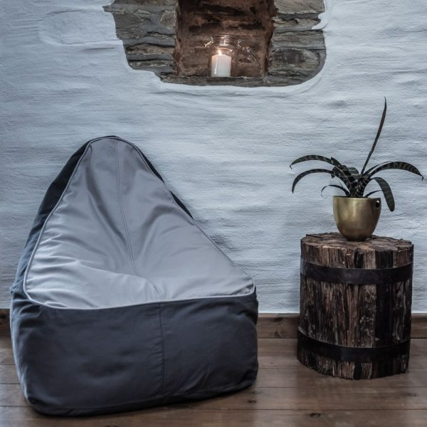 The Bean Bag - Dove and Oyster
