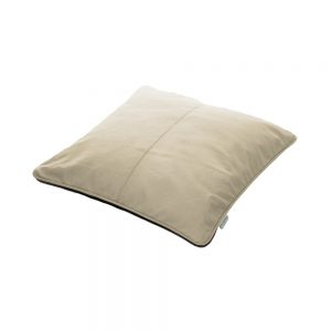 The Bean Cushion - Cream and Coffee