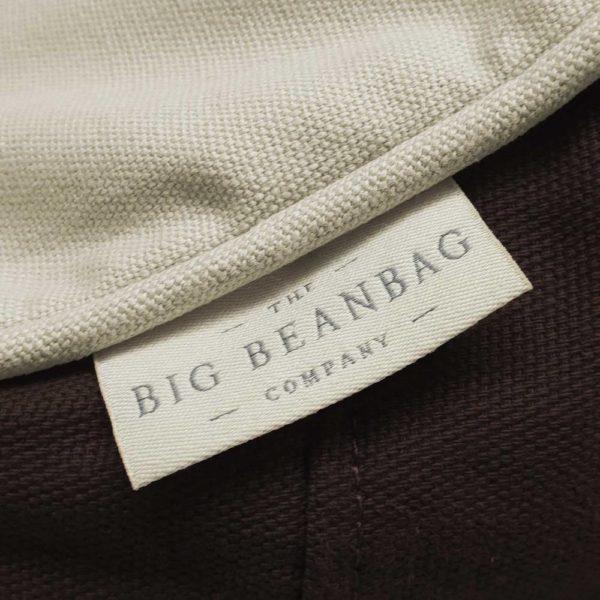 Bean Bag - Cream & Cocoa