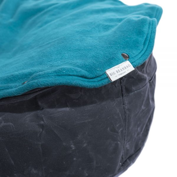 Eco-friendly pet bed ash turquoise